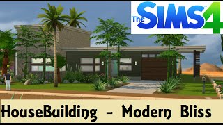 getlinkyoutube.com-The Sims 4: House Building - Modern Bliss