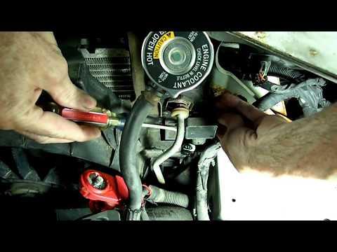 Radiator Coolant Level Sensor Replacement