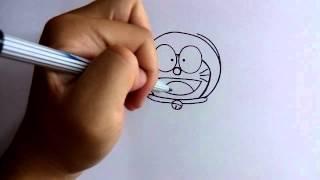 getlinkyoutube.com-วาดการ์ตูน กันเถอะ | สอนวาดการ์ตูน โดราเอม่อน Doremon ง่ายๆ