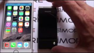 getlinkyoutube.com-iPhone 6 Dual SIM adapter - Have 2 or 3 SIM active at the same time on iPhone 6 - SIMore G1 BlueBox