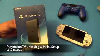 getlinkyoutube.com-Playstation TV Unboxing & Initial Setup