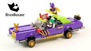 getlinkyoutube.com-Lego Super Heroes 70906 The Joker Notorious Lowrider - Lego Speed Build