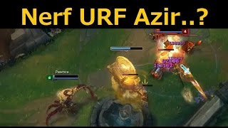 getlinkyoutube.com-Azir NURF Gameplay - Ban this champion... Ban him