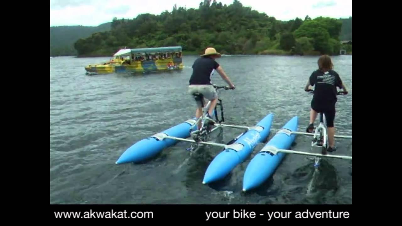 Är det en båt, är det en cykel? Nej det är Akwakat! -Kent Clarström