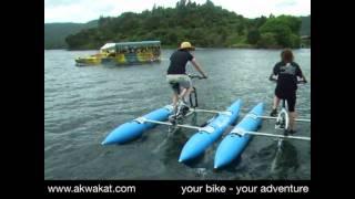 Akwakat waterbike cruising