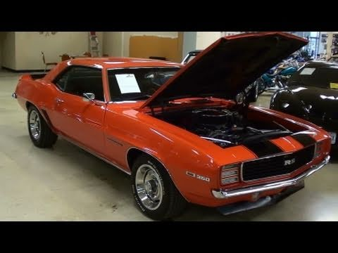1969 Chevrolet Camaro RS Hugger Orange Muscle Car