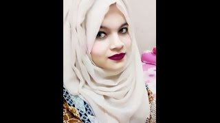 getlinkyoutube.com-Everyday (2)hijab styles PART 2|| Farzana Alin ||