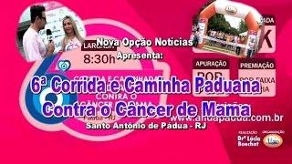 Nova Opção Notícias-6ª Corrida Contra o Câncer de Mama