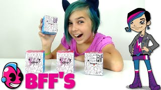 getlinkyoutube.com-Kidrobot BFF's - Surprise Toy Blind Box Opening - Cute Collectibles!