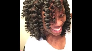 getlinkyoutube.com-How to Maintain & Re-Curl Crochet Braids!