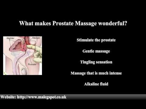 Prostate Massage for Prostate Cancer Prevention