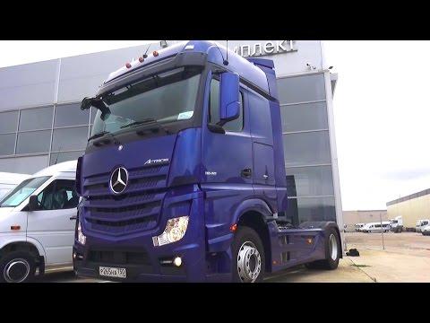 2016 Mercedes-Benz Actros 1845 LS. Обзор (интерьер, экстерьер, двигатель).