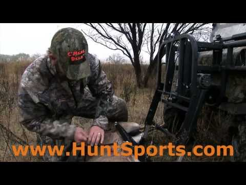 Back Saver Power Loading Machine ATV UTV Lift Haul Big Whitetail Bucks Mulies Elk Gear