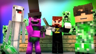 Minecraft Mini-Game : DO NOT LAUGH! (CRAPPING CREEPER AND THE OVERWORKED BEAVER!) w/ Facecam