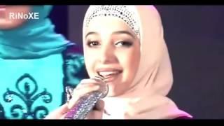 getlinkyoutube.com-Remaja Putri Chechnya – menyanyikan Band dalam bahasa Arab