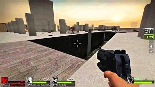 getlinkyoutube.com-Left 4 Dead 2 - Tanks Playground Custom Survival Map Multiplayer Gameplay Playthrough