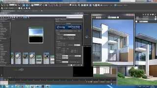 getlinkyoutube.com-RENDER HDRI 3DSMAX EXTERIOR VISUALIZATION