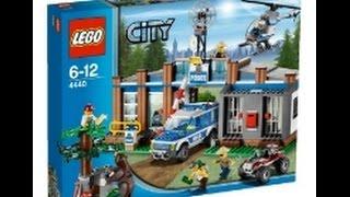 Обзор LEGO City 4440 Пост лесной полиции