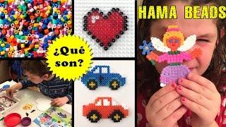 Hama Beads - Qué son y cómo se usan
