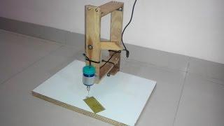 getlinkyoutube.com-Home Made PCB Drilling Machine