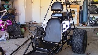 getlinkyoutube.com-How To Make a Go Kart Seat, Step by Step Walkthrough