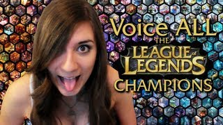 getlinkyoutube.com-Voice ALL the League of Legends Champions!