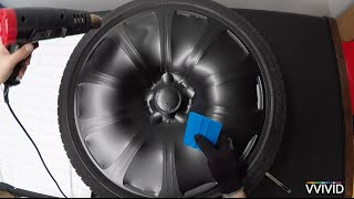 getlinkyoutube.com-VVIVID Vinyl - How To Vinyl Wrap Car Rims