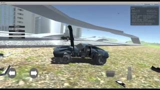 getlinkyoutube.com-Mobile Optimized Car Destruction Unity 3d