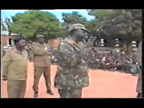 John Garang speaking to POWs partII)   YouTube