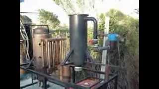 getlinkyoutube.com-Impianto di gassificazione da 20 KW per produzione Energia Elettrica e riscaldamento
