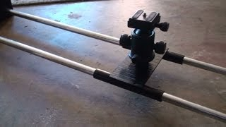 getlinkyoutube.com-How To: DIY Camera Slider - Guide Rail Easy,Simple,Fast Construction