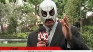 getlinkyoutube.com-Cazadores de Historias / Reportaje: Hijo del Santo vs. Nieto del Santo