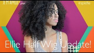 Ellie Half Wig Update!
