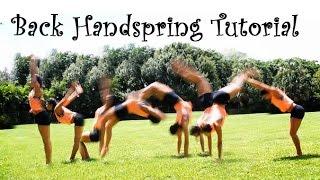getlinkyoutube.com-How To Do a Back Handspring FAST!!!!
