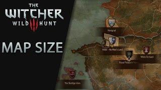 getlinkyoutube.com-Witcher 3: Wild Hunt - BIG Open World Map Size (Full Map Showcase)