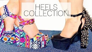 getlinkyoutube.com-Shoe Collection: HEELS!