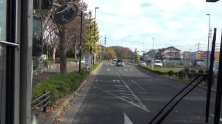 getlinkyoutube.com-【テイク2】 京王バス 武91 武蔵小金井駅~調布駅 【HD前面展望】