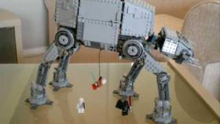 getlinkyoutube.com-Lego Star Wars AT-AT Walker