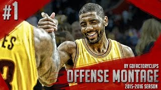 getlinkyoutube.com-Kyrie Irving Offense Highlights 2015/2016 (Part 1) - Uncle Drew INSANE Handles, Crossovers, CLUTCH!