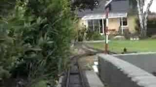getlinkyoutube.com-Meine Gartenbahn im Mai 2007