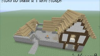 getlinkyoutube.com-How to build a Farm House in Minecraft