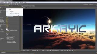 getlinkyoutube.com-How to make an Adobe After Effects audio visualizer