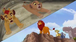 getlinkyoutube.com-Lion Guard: Searching for Udugu + Simba leads the Guard! | The Trail to Udugu HD Clip