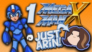 getlinkyoutube.com-MegaMan X: Just the Arins - PART 1 - Game Grump