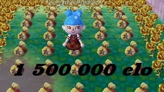 getlinkyoutube.com-Comment gagner 1 500 000 chochette en 5 min dans Animal Crossing New Leaf