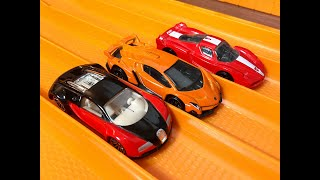 getlinkyoutube.com-Bugatti Veyron vs Ferrari FXX vs Lamborghini Veneno - RACE/TOP SPEED TEST