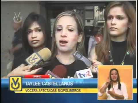 Mujeres afectadas por biopolimeros piden al Gobierno Nacional atención inmediata