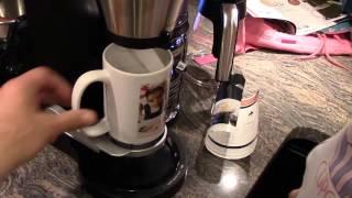 getlinkyoutube.com-HOLY CUP OF JOE! We Made our first Cup! -  NINJA COFFEE BAR