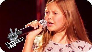 getlinkyoutube.com-Lena Meyer-Landrut - Wild and Free (Gabriele) | The Voice Kids | Blind Auditions | SAT.1