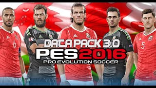 [PES16]DATA PACK 3.00 OFFLINE AND ONLINE شرح الداتا باك 3